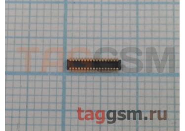 Коннектор (установлен на дисплей) для Lenovo A516 34pin