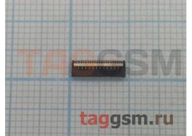 Коннектор дисплея для HTC One mini / One X / One XL 25pin
