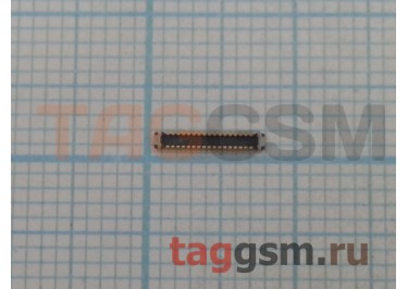 Коннектор дисплея для Samsung A800F / A900F Galaxy A8 / A9 34pin