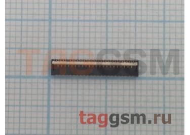 Коннектор шлейфа SIM + MicroSD карты для Asus Zenfone 6 (A600CG) 45pin