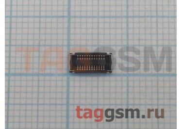 Коннектор дисплея для Nokia 520 / X / XL 24pin