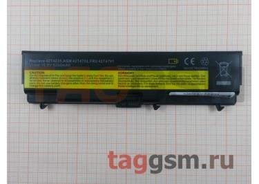 АКБ для ноутбука Lenovo ThinkPad E40 / E50 / L410 / L412 / L420 / L421 / L510 / L512 / L520 / SL410 / SL510 / T410 / T420 / T510 / T520 / W510 / W520, 5200mAh, 10.8V (IMT410LH)