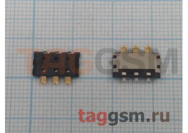 Контакты АКБ для Fly FS451 / FS501 / FS502 / FS504 / FS514 / FS551 / IQ4503 / IQ4505 3pin