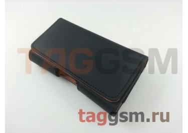 Чехол на ремень для iPhone 5 / 5s / 5se / 5c (118x61x7 мм) (черный) техпак