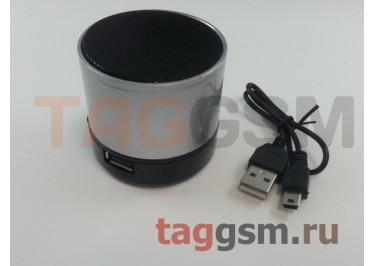Колонка (Bluetooth, USB, microSD, серый) (S10)