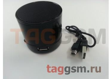 Колонка (Bluetooth, USB, microSD, черный) (S10)