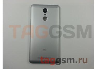Задняя крышка для Xiaomi Redmi Note 3 Pro (серебро), ориг