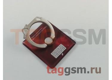 Держатель для мобильных телефонов 360 градусов Apple (красный)