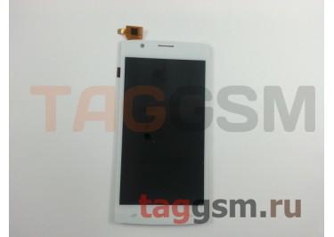 Дисплей для Fly FS501 Nimbus 3 + тачскрин (белый)