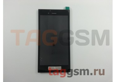 Дисплей для BlackBerry Z3 + тачскрин + рамка (черный)