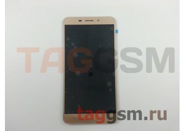 Дисплей для Asus Zenfone 3 Lazer (ZC551KL) + тачскрин (золото)