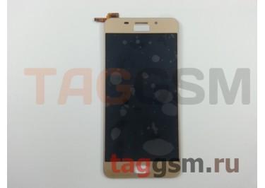 Дисплей для Asus Zenfone 3s Max (ZC521TL) + тачскрин (золото)
