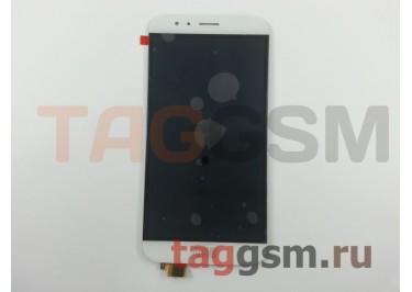 Дисплей для Huawei G7 Plus + тачскрин (белый)
