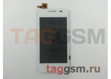 Дисплей для ZTE Blade AF3 / AF5 / A5 / A5 Pro + тачскрин (белый)