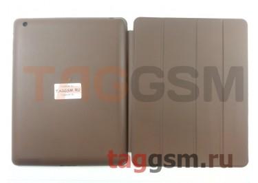 Сумка футляр-книга Smart Case для Apple iPad 2 / 3 / 4 (коричневая)