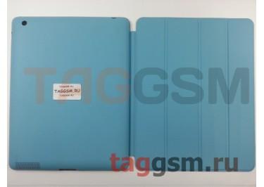 Сумка футляр-книга Smart Case для Apple iPad 2 / 3 / 4 (голубая)