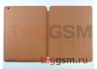 Сумка футляр-книга Smart Case для Apple iPad 2 / 3 / 4 (светло-коричневая)