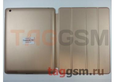 Сумка футляр-книга Smart Case для Apple iPad 2 / 3 / 4 (золотая)