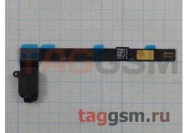 Шлейф для iPad Mini 4 + разъем гарнитуры (черный)