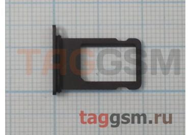 Держатель сим для iPhone 8 Plus (серый)