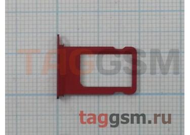 Держатель сим для iPhone 7 (красный)