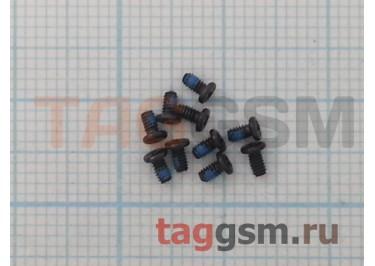 Винты 1.4x2.5 с закругленной головкой (комплект 10шт)(черный)