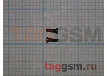 Винты для iPhone 7 нижние (2шт) (черный)