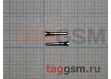 Винты для iPhone X / XR / XS / XS Max нижние (2шт) (серебро)
