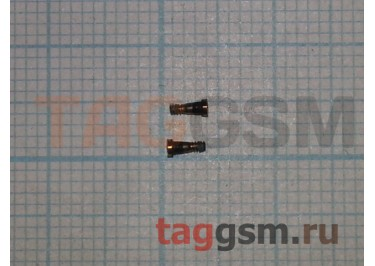 Винты для iPhone 7 нижние (2шт) (золото)