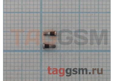 Винты для iPhone 7 нижние (2шт) (серебро)