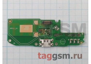 Шлейф для Asus Zenfone Go (ZB500KL) + разъем зарядки + микрофон