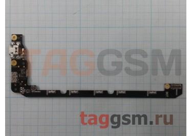 Шлейф для Asus Zenfone Selfie (ZD551KL) + разъем зарядки + микрофон