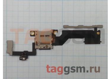 Шлейф для HTC One M9 Plus + кнопка включения + кнопки громкости + слот карты памяти