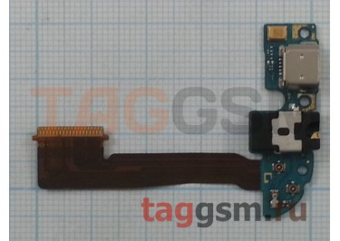 Шлейф для HTC One E8 + разъем зарядки + разъем гарнитуры + микрофон