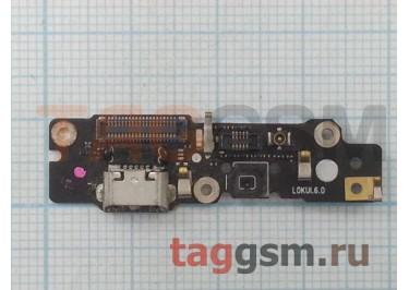 Шлейф для Meizu MX4 Pro + разъем зарядки + микрофон