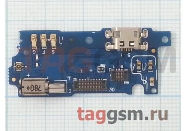 Шлейф для Meizu M3s mini + разъем зарядки + микрофон + вибро