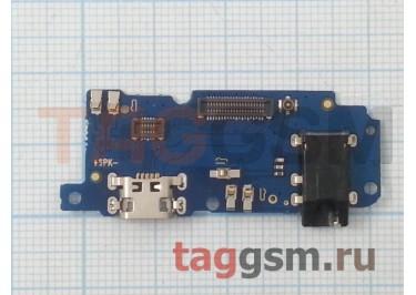 Шлейф для Meizu M5 + разъем зарядки + разъем гарнитуры + микрофон