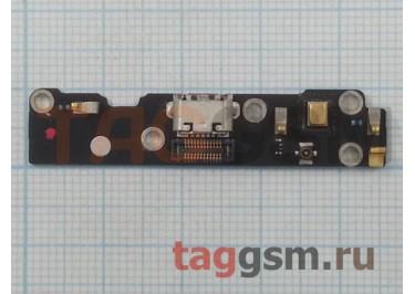 Шлейф для Meizu MX3 + разъем зарядки + микрофон