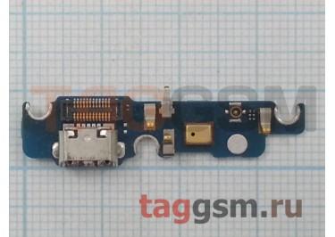 Шлейф для Meizu MX4 + разъем зарядки + микрофон