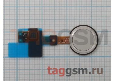 Шлейф для LG H850 G5 + сканер отпечатка пальца (белый)