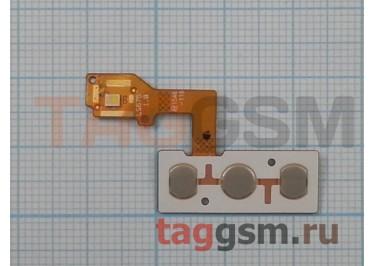 Шлейф для LG K350 K8 LTE + кнопка включения + кнопки громкости