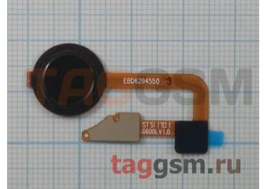 Шлейф для LG H870 G6 + сканер отпечатка пальца (серебро)