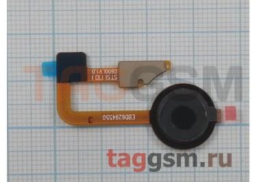 Шлейф для LG H870 G6 + сканер отпечатка пальца (черный)