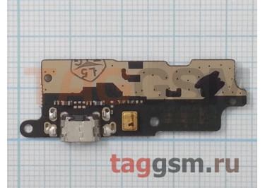 Шлейф для Lenovo Vibe C2 + разъем зарядки + микрофон