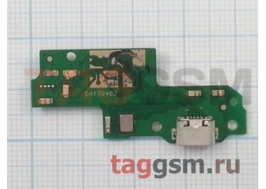 Шлейф для Huawei P9 Lite + разъем зарядки + микрофон