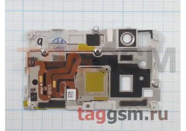 Шлейф для Huawei P9 Lite + сканер отпечатка пальца (серебро)