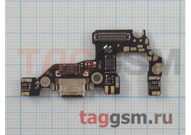 Шлейф для Huawei P10 + разъем зарядки + микрофон