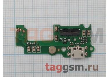 Шлейф для Huawei GR3 + разъем зарядки + микрофон