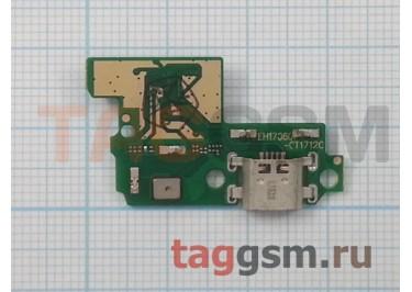 Шлейф для Huawei P10 Lite + разъем зарядки + микрофон