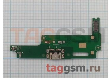 Шлейф для Huawei Y3 II + разъем зарядки + микрофон